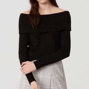 NWT! LOFT Off-Shoulder Sweater